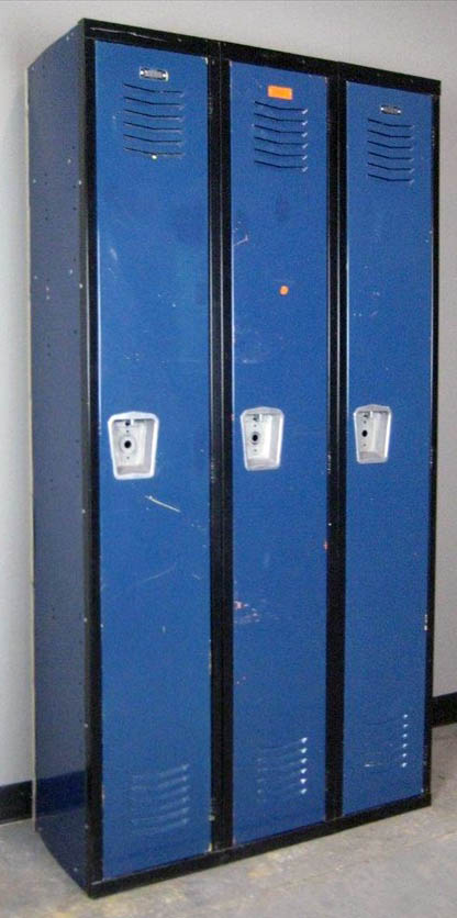 1-Tier Corridor Lockers
