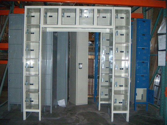 Clear Lockers In STOCK