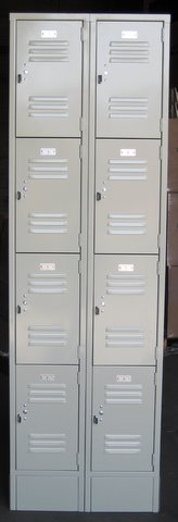 Small Lockers (4 Tier)
