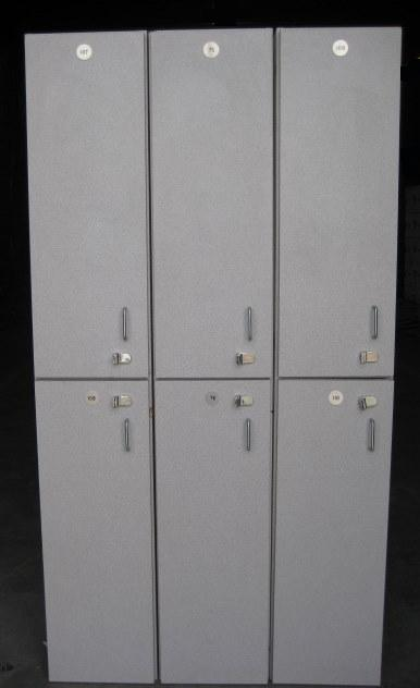 62122172GWA Wood Laminate Lockers