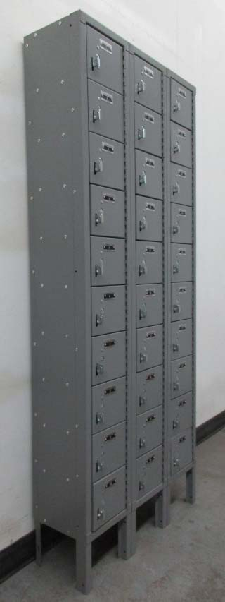 Gray Cell Phone Lockers