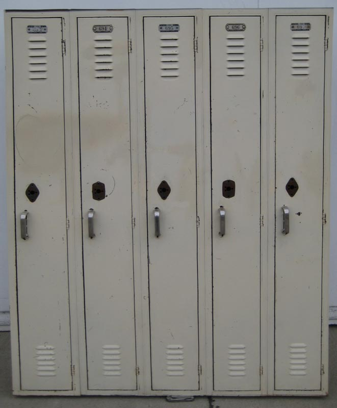 Tan Lyon Used Lockers