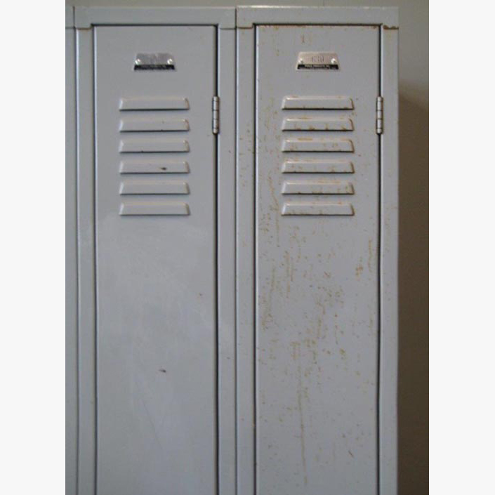 Gray Single Tier Penco Corridor Lockers