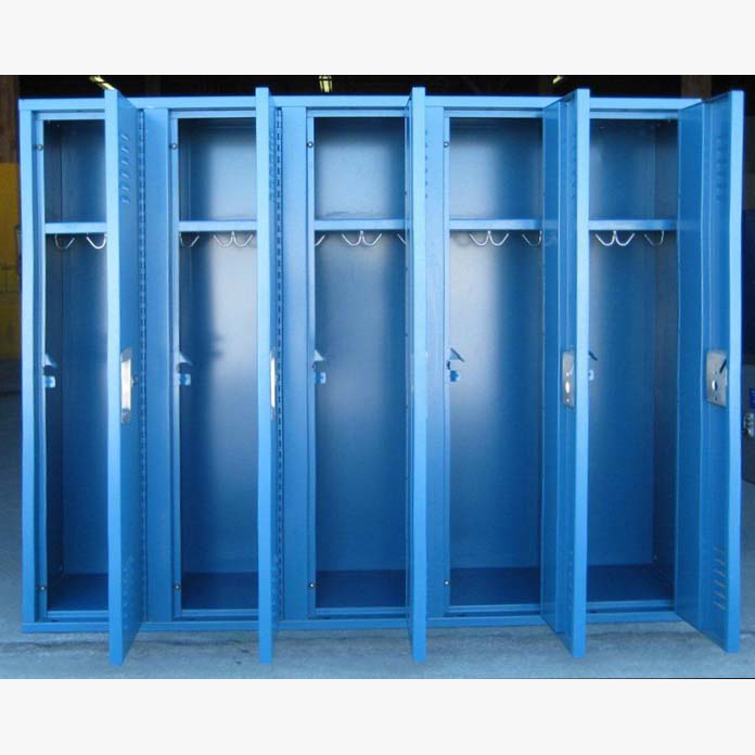 Small Metal Locker In Blueimage 3 image 3