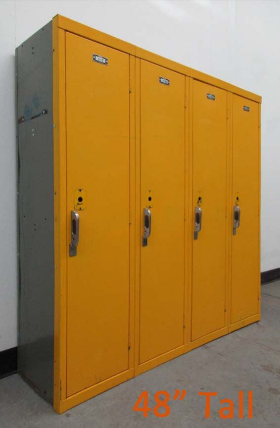 School Lockers Used
