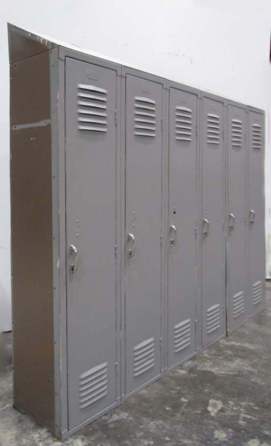 Old Metal Lockers