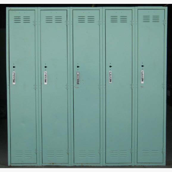Green Worley Metal Lockers