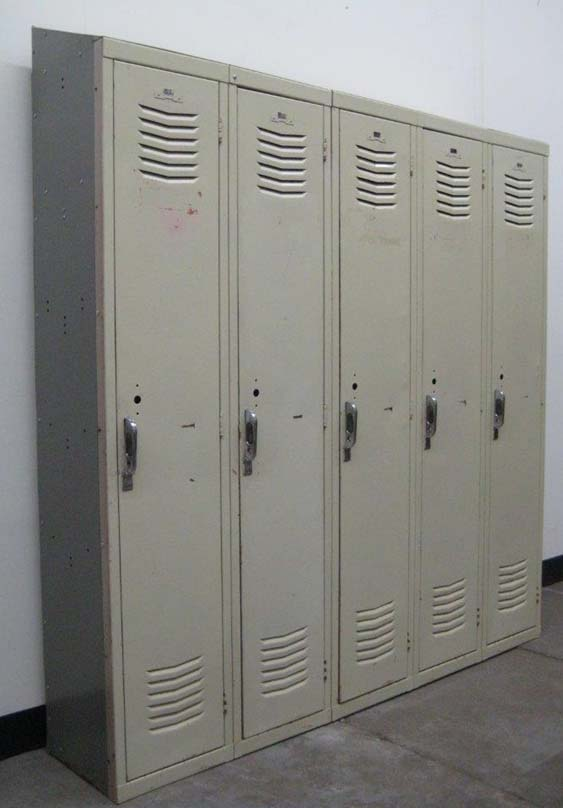 Single Tier Interior Lockers