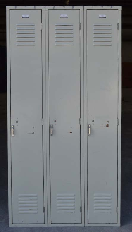 Penco Single Tier Metal Lockersimage 2 image 2