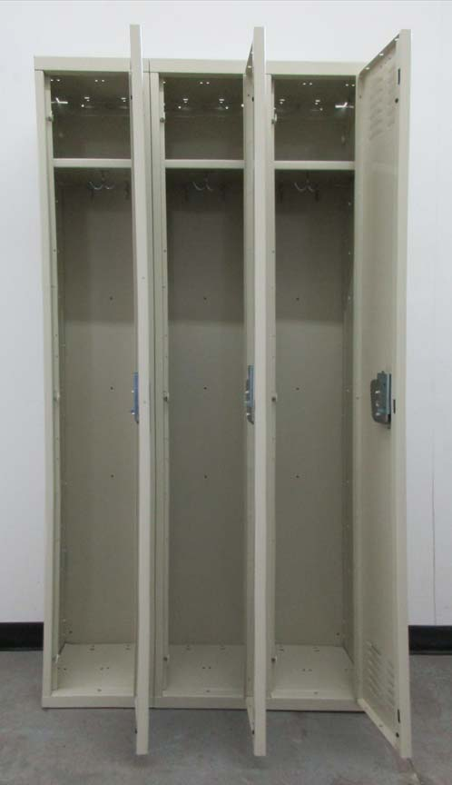 Single Tier Metal Lockers for saleimage 3 image 3