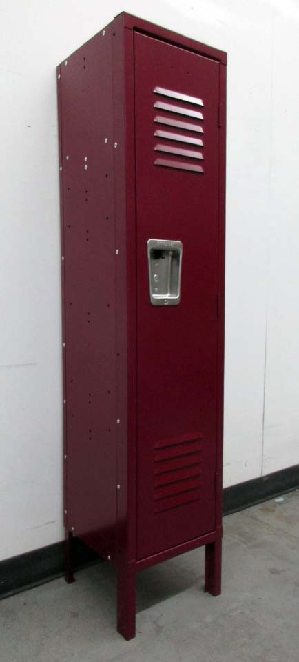 Burgundy Lockers
