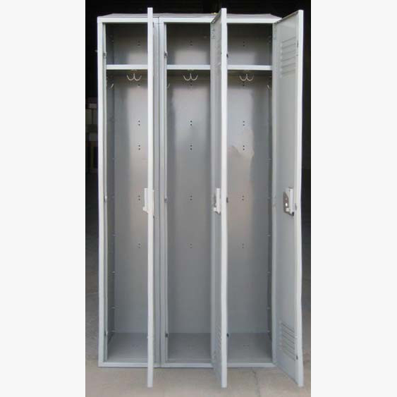 Gray Penco Lockers With Sloped Topsimage 3 image 3