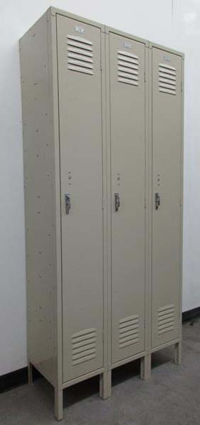 Single Tier Metal Storage Locker