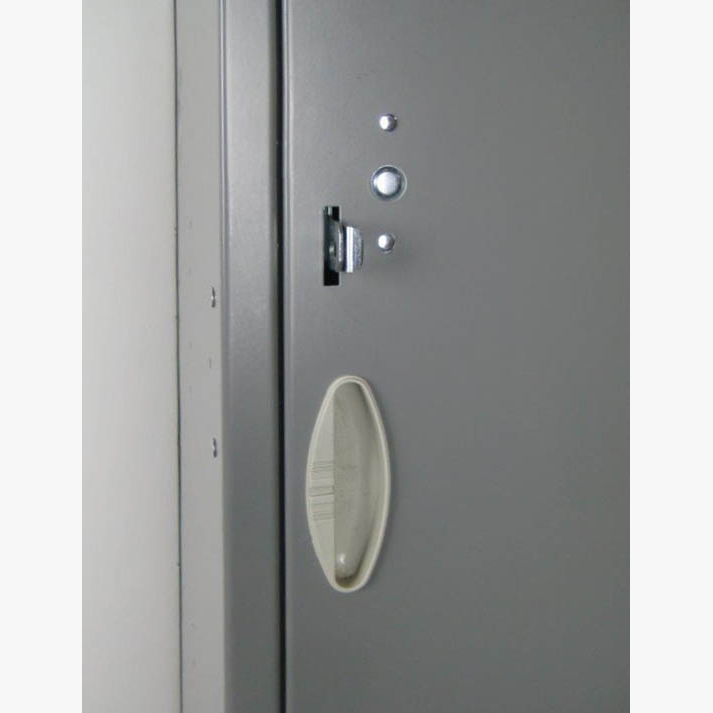 Single Tier Gray Locker with legsimage 4 image 4