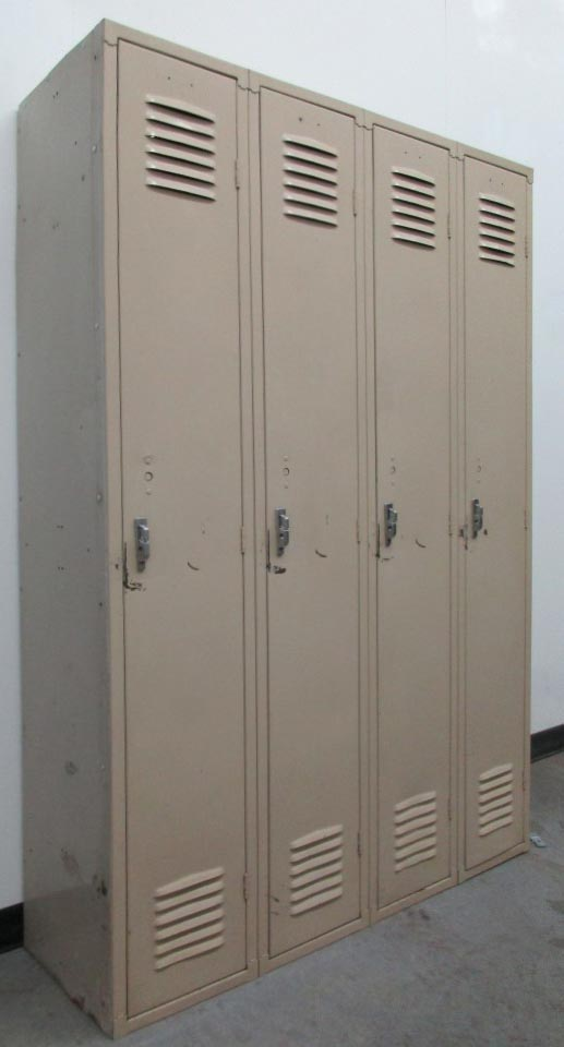 Tan 1-Tier Republic Lockers