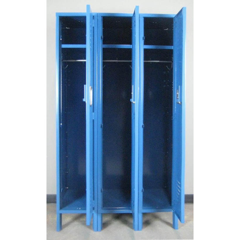 Blue 1-tier Metal Lockersimage 2 image 2