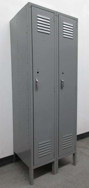 Single Tier Lyon Metal Lockers