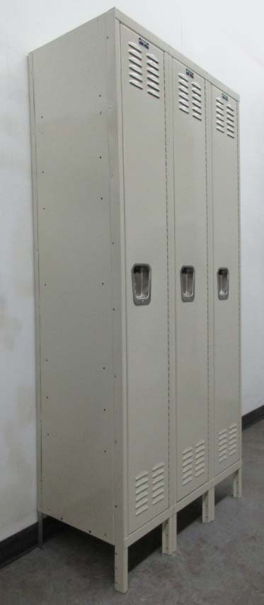 Tan Hallowell Single Tier Lockers