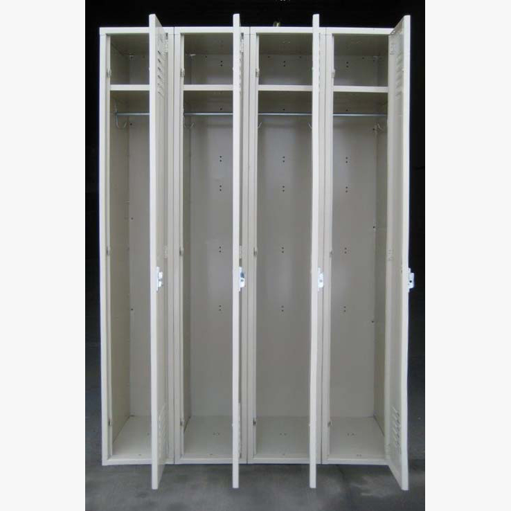Tan Single Tier Penco Steel Lockersimage 2 image 2
