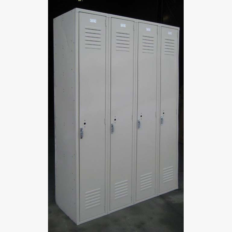 Tan Single Tier Penco Steel Lockersimage 4 image 4