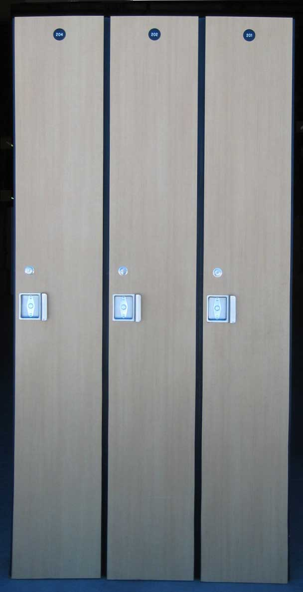 Wood Lockers - Used