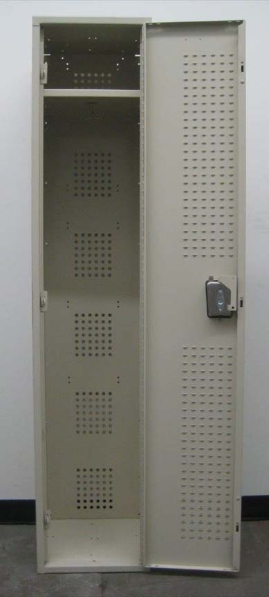 Single Tier Metal Locker with extra Ventilated Doorsimage 2 image 2