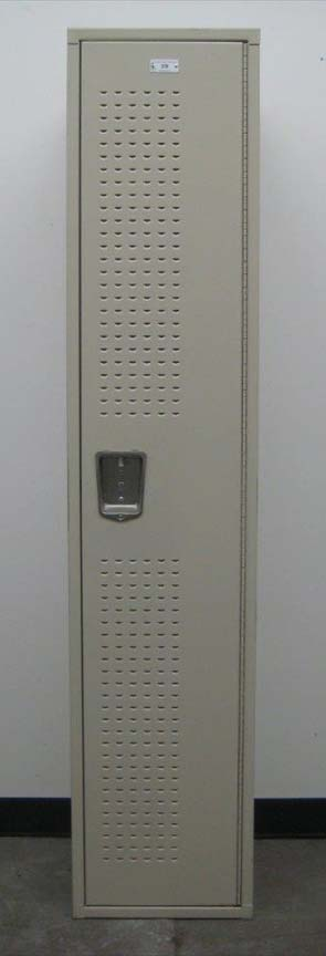 Single Tier Metal Locker with extra Ventilated Doorsimage 3 image 3