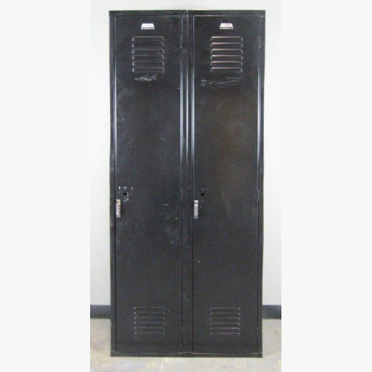 Black Single Tier Penco Lockersimage 2 image 2