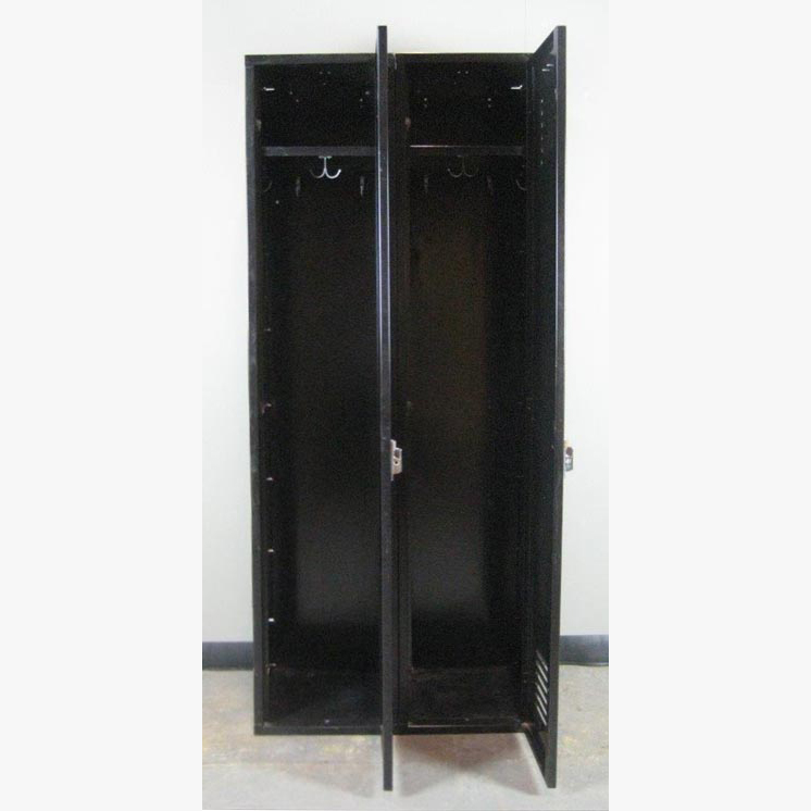 Black Single Tier Penco Lockersimage 3 image 3