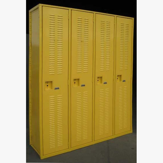 Yellow Superior Welded Lockersimage 2 image 2