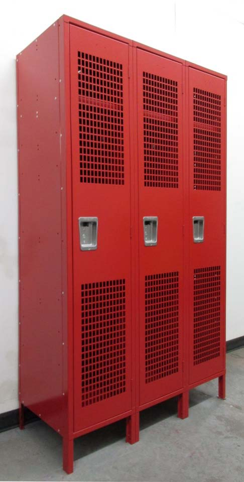 Lockers with Perforated Doors