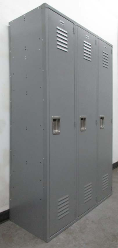 Gray Single Tier Metal Locker