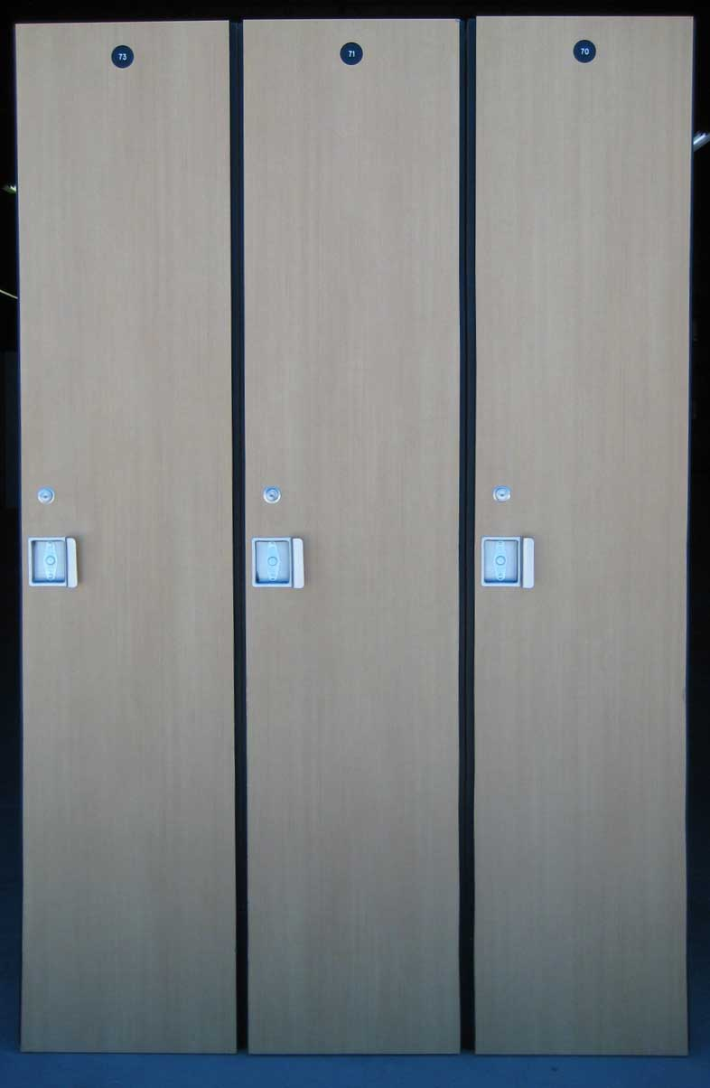 Used Wood Lockers
