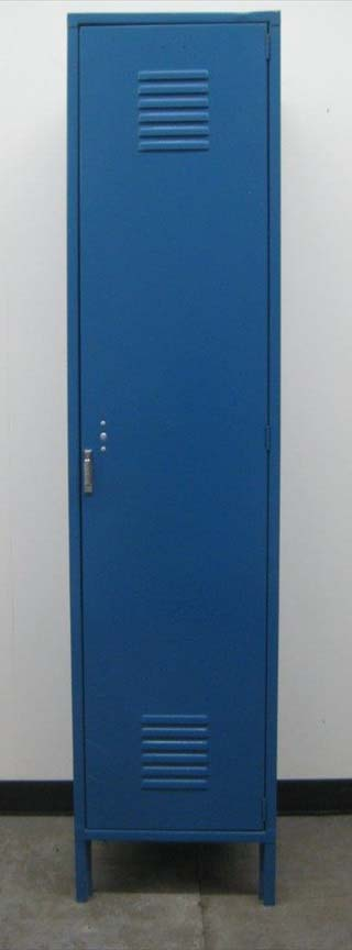 Blue Penco Single Tier Lockers image 2 image 2
