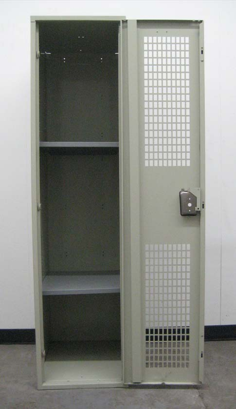 Single Tier Metal Locker with Ventilated Doorsimage 3 image 3