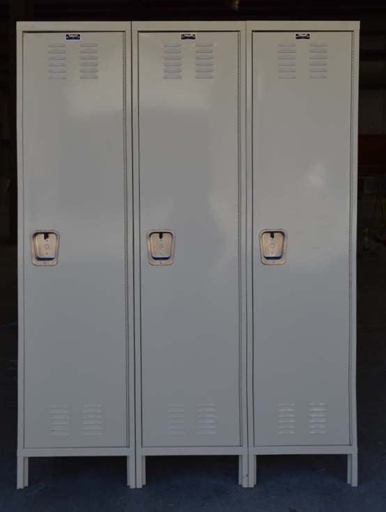 Single Tier Industrial Metal Storage Lockersimage 2 image 2