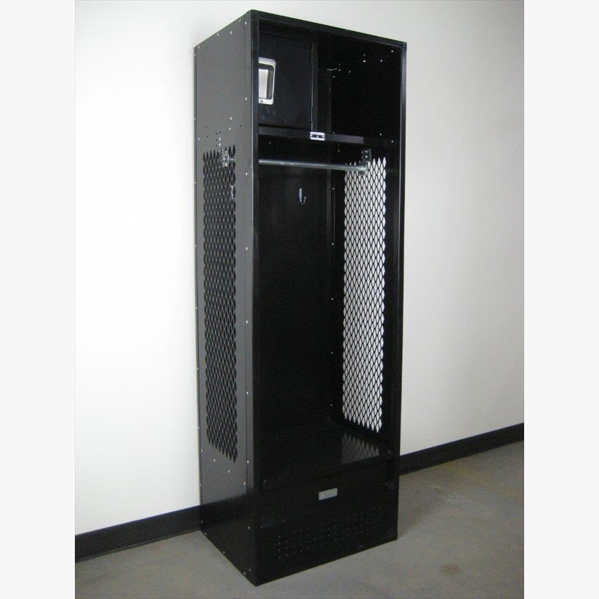 Fully Loaded Black Stadium Locker