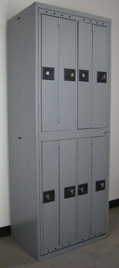 Uniform Lockers with Pad Lock Hasp