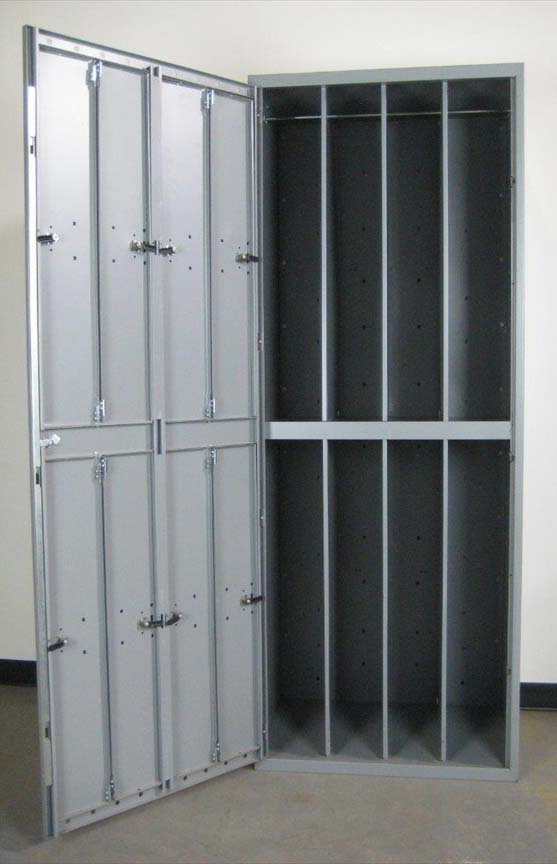 Uniform Lockers with Pad Lock Haspimage 3 image 3