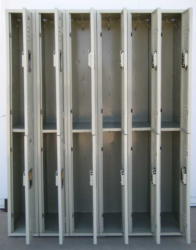 Double Tier Student Hall Lockersimage 3 image 3