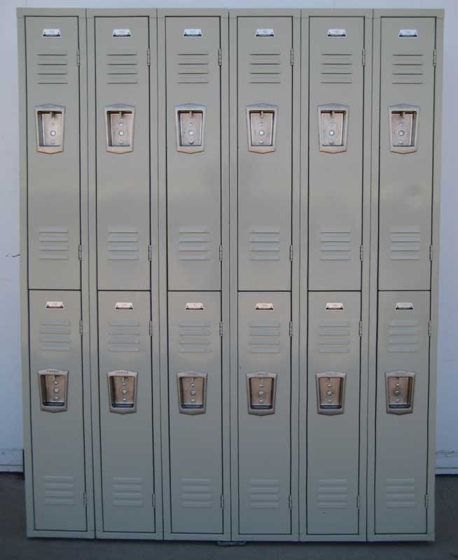 Double Tier Student Hall Lockersimage 2 image 2