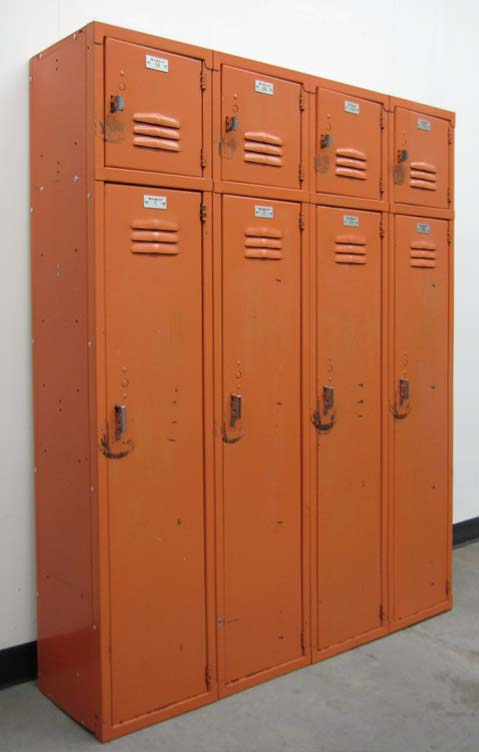 Double Stack Box Over Lockers