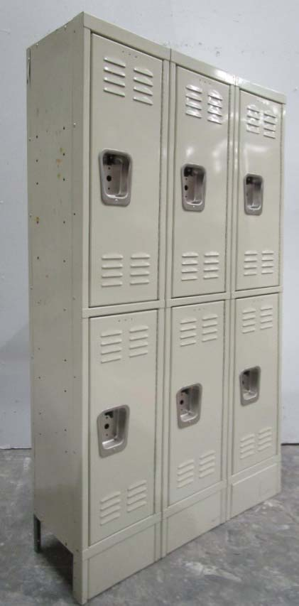Double Tier Used School Lockers