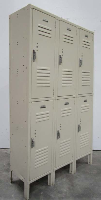 Penco Double Tier Lockers