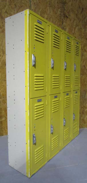 Used Double Stack Lockers