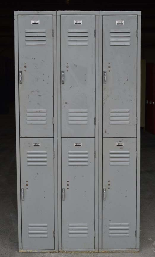 Double Tier Penco Metal Lockersimage 2 image 2