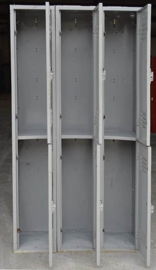 Double Tier Penco Metal Lockersimage 3 image 3
