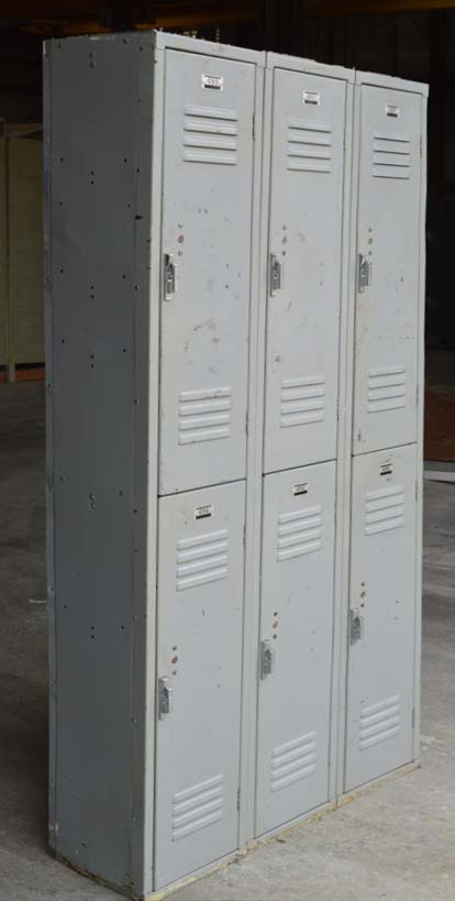 Double Tier Penco Metal Lockersimage 4 image 4