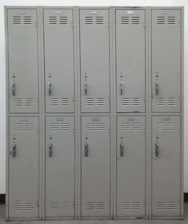 Double Tier School Hallway Lockersimage 2 image 2