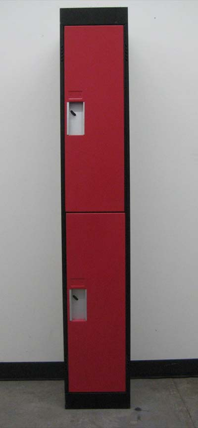 Two Tone Double Tier Storage Lockerimage 2 image 2